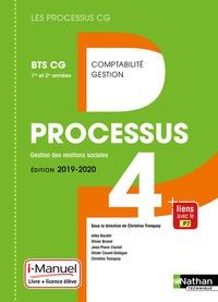 Christine Tronquoy et Atika Baudet - Processus 4 Gestion des relations sociales BTS CG 1re et 2e années.