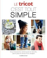 Christine Van Soom et Hilde Smeesters - Le tricot c'est tout simple - Tous les pas, techniques et motifs pas à pas en mots et en images.