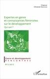 Christine Verschuur - Expertes en genre et connaissances féministes sur le développement - Qui sait ?.