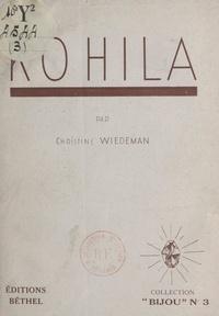 Christine Wiedeman - Kohila.