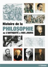 Christoph Delius et Matthias Gatzemeier - Histoire de la philosophie de l'Antiquité à nos jours.
