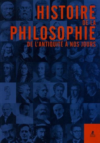 Christoph Delius et Matthias Gatzemeier - L'Histoire de la philosophie - De l'antiquité à nos jours.