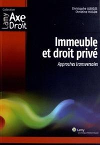 Immeuble et droit privé - Approches transversales.pdf