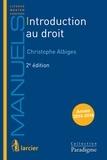 Christophe Albiges - Introduction au droit.