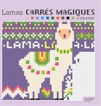 Christophe-Alexis Perez - Carrés magiques pixel lamas.