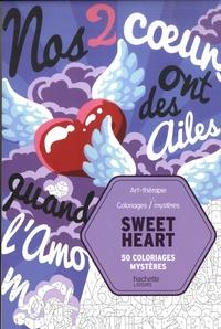 Christophe-Alexis Perez - Sweet Heart - 50 coloriages mystères.