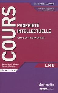 Christophe Alleaume - Propriété intellectuelle.