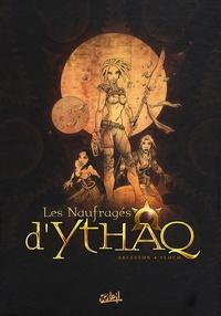 Christophe Arleston et Adrien Floch - Les Naufragés d'Ythaq  : Coffret en 3 volumes : Tome 1, Terra incognita ; Tome 2, Ophyde la géminée ; Tome 3, Le soupir des étoiles.