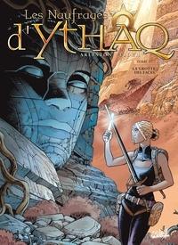 Christophe Arleston et Adrien Floch - Les Naufragés d'Ythaq Tome 17 : La Grotte des Faces.