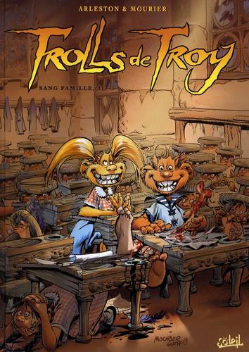 Christophe Arleston et Jean-Louis Mourier - Trolls de Troy Tome 12 : Sang famille.