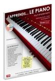 Christophe Astié - J'apprends le piano tout simplement - Tome 1. 1 CD audio