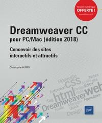 Christophe Aubry - Dreamweaver CC pour PC/Mac - Concevoir des sites interactifs et attractifs.