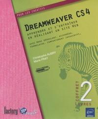 Christophe Aubry et Marie Prat - Dreawweaver CS4 - Apprendre et s'entraîner en réalisant un site web, 2 volumes.