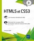 Christophe Aubry - HTML5 et CSS3 - Complément vidéo : Découvrez les nouveaux effets et l'insertion native de l'audio et de la vidéo.
