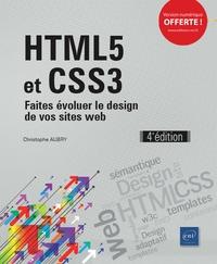 Christophe Aubry - HTML5 et CSS3 - Faites évoluer le design de vos sites web.