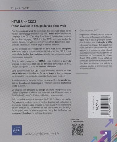 HTML5 et CSS3. Faites évoluer le design de vos sites web 4e édition