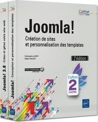Christophe Aubry et Didier Mazier - Joomla! - Création de sites et personnalisation des templates, 2 volumes.