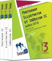 Christophe Aubry et Didier Mazier - Photoshop, Illustrator et Indesign CC - Maîtrisez la suite graphique Adobe, 3 volumes.