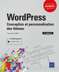 Christophe Aubry - WordPress - Conception et personnalisation des thèmes.