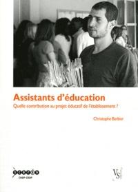 Assistants déducation - Quelle contribution au projet éducatif de létablissement ?.pdf