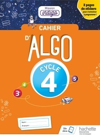 Real book téléchargement gratuit Cahier Algo 5e Cycle 4 Mission indigo FB2 PDF CHM par Christophe Barnet (French Edition) 9782017025412