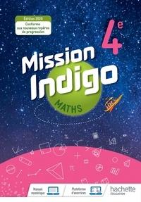 Birrascarampola.it Mathématiques 4e Cycle 4 Mission Indigo - Livre de l'élève Image