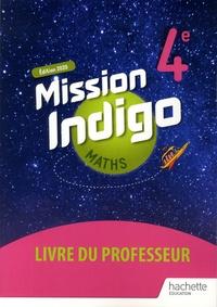 Christophe Barnet - Mathématiques 4e Cycle 4 Mission Indigo - Livre du professeur.
