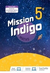 Christophe Barnet - Maths 5e Mission Indigo.