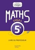 Christophe Barnet - Maths 5e - Livre du professeur.