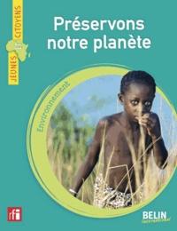 Christophe Barron - Préservons notre planète.