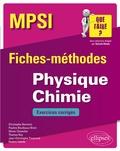 Christophe Bernicot et Pauline Boulleaux-Binot - Physique Chimie MPSI - Fiches-méthodes et exercices corrigés.