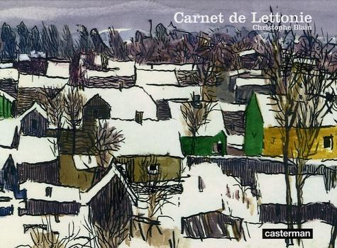 Christophe Blain - Carnet de Lettonie.