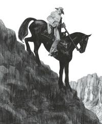 Christophe Blain - Gus Tome 4 : Happy Clem - Edition noir et blanc.