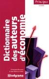 Christophe Bormans et Jean-Marie Le Tallec - Dictionnaire des auteurs d'économie.