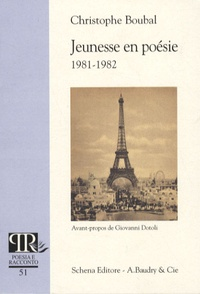 Christophe Boubal - Jeunesse en poésie (1981-1982).