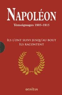Christophe Bourachot - Napoléon - Témoignages 1805-1815, Coffret 2 tomes.