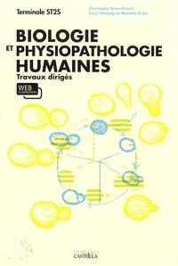 Christophe Brun-Picard et Suzy Hertzog - Biologie et physiopathologie humaines Tle ST2S - Travaux dirigés.