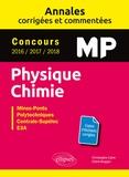 Christophe Caire et Claire Boggio - Physique Chimie MP Concours Mines-Ponts, Groupe Centrale-Supélec, CCINP, Mines-Télécom, E3A.