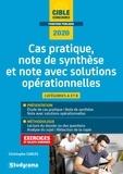 Christophe Carles - Note et cas pratique - Note de synthèse, cas pratique, note avec solutions opérationnelles.