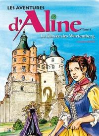 Christophe Carmona - Les aventures d'Aline Tome 4 : La fiancée des Wurtemberg.