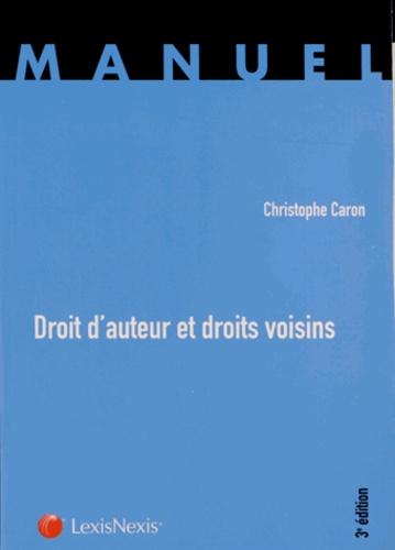 Christophe Caron - Droit d'auteur et droits voisins.