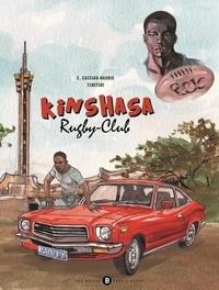 Christophe Cassiau-Haurie et  Tshitshi - Kinshasa Rugby-Club.