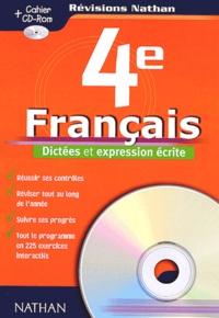 Français 4ème. Dictées et expression écrite, avec CD-ROM - Christophe Castel   Showmesound.org
