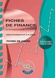 Christophe Castéras - Fiches de finance UE 2 du DSCG.