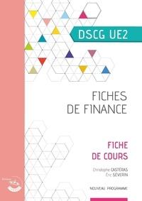 Christophe Castéras - Fiches de finance UE 2 du DSCG - Fiches de cours.