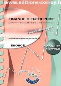 Finance dentreprise UE 6 du DCG - Enoncé.pdf