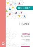 Christophe Castéras et Christiane Corroy - Finance DSCG 2 - Corrigé, cas pratiques.