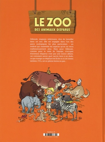 Le zoo des animaux disparus Tome 1
