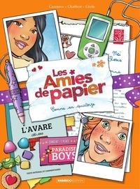 Christophe Cazenove et Ingrid Chabert - Les amies de papier - Tome 4 - Comme an quatorze.