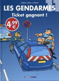 Christophe Cazenove et Olivier Sulpice - Les Gendarmes Tome 11 : Ticket gagnant !.